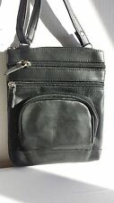 SHEEP-SKIN-SLIM-CROSS-BODY-BAG-WITH-2-FRONT-ZIPPERS-BLACK M3