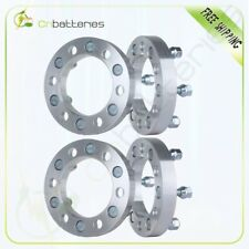 """4X 6x5.5 Wheel Spacers 1"""" 25mm Thick 12x1.25 For 1998-2004 Nissan Frontier"""