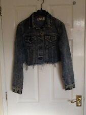 Boohoo womens denim jacket size 10