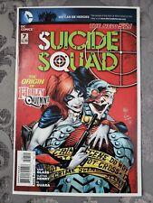 Suicide Squad #7 (April 2012, DC) Deadshot Cover - NM or Better! 🔥