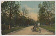 USA postcard - The Main Driveway in Wright Park, Tacoma, Washington - P/U (A194)