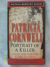 Portrait of A Killer by Patricia Cornwell (2002 - 4 Audio Cassettes, Abridged)