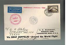 1929 Germany Graf Zeppelin World Flight Cover to Japan
