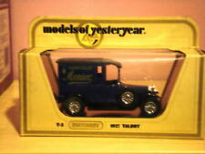 Matchbox Models of Yesteryear Y-5 1927 Talbot Blue