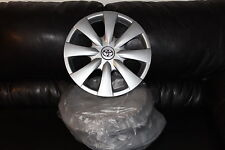 "4 TOYOTA COROLLA 2009 to 2013 HUBCAPS 4 ORIGINAL 15"" FACTORY Wheelcovers"