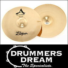 "Zildjian A Custom 14"" Hi Hats Cymbal (Pair) Briliant*2 YEAR WARRANTY!* RRP $689!"