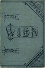 Hartleben Wien und Umgebung Illustrierter Wegweiser Auflage 5 um 1886