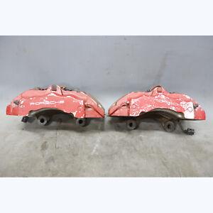 "2003-2010 Porsche 955 957 Cayenne Front Brembo Brake Caliper Pair Right Left 18"""