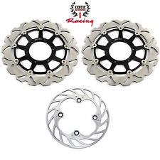 Front & rear Brake Rotors Set For Honda RVT1000R RC51 2000-07 CBR1000RR 2006-07