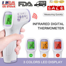 Infrared Thermometer Digital Temperature Gun Non Contact Ir Forehead Babyadult