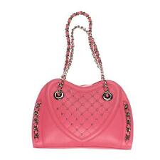 BODHI Leather Monaco Sweetheart Bright Pink Handbag Satchel NWT $365