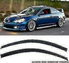 Window Visor 2002-2006 Acura RSX Base RSX Type S Dark Smoke Visor Rain Guard