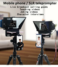 New Mini Teleprompter Portable Inscriber Mobile Artifact Video Remote for Phone