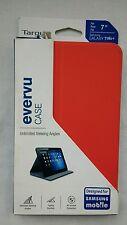 """Targus Samsung Galaxy Tab 4  7"""" Evervu Folio Case - Red THZ44503EU"""