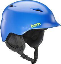 Bern CAMINO Kid's Boys Ski / Snowboard Helmet XS-S S-M Orange Blue Camo