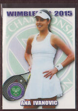 2015 GORGEOUS ANA IVANOVIC Wimbledon card 1/100 Tennis