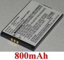 Batterie 800mAh Pour AUDIOVOX CDM-7076, CDM7076, type BTR1 BTR-1