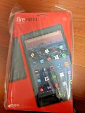 Black Amazon Kindle Fire HD 10 Alexa 32GB 7th Gen New - with special offers