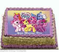 Cake topper edible image icing My Little Pony REAL FONDANT