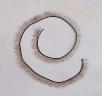 Brown Eyelash 20cm length For Reborn Baby Dolls Accessories BJS SD doll parts