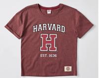 GIRLS Size 12  HARVARD  Cotton Tee t-shirt top Burgundy  NEW