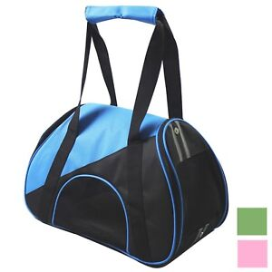 Airline Approved Zip-N-Go Contoured Travel Fashion Pet Dog or Cat Carrier Bag