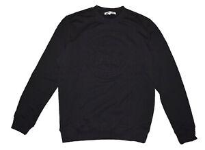 MCQ Alexander McQueen Logo Embossed Sweatshirt in Black Size XXL NEW