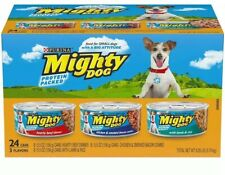 Purina Mighty Dog Small Breed Wet Dog Food Variety Pack - 24 Pack