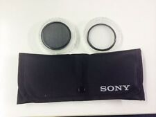 SONY Polarising Filter and MC Protector