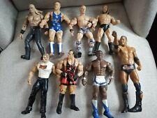 Mix of 8  WWE Figures - 1998-2011 - The Rock, Triple H, Edge, Champ Belt Lot#1