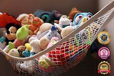 MiniOwls Kids Large Toy Stuffed Animal Hammock Hanging Storage Organizer Net