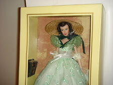 Franklin Mint Scarlett O'Hara Vinyl Doll Barbeque Twelve Oaks Gone with the Wind