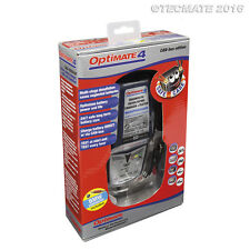 Optimate 4 BMW / Ducati Battery Charger Can Bus Lead included 2017 Model (New)