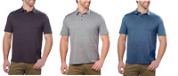 G.H. Bass & Co Men's Short Sleeve 3 Button Polo Shirt - VARIETY