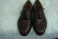 ECCO Brown Leather Casual Lace Up Oxfords Shoes Size EU 43 US 9-9.5 Fit Guide