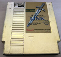 Authentic Nintendo NES Zelda 2 The Adventure of Link ~ Gold Cartridge ~
