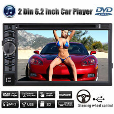"For Ford Car CD DVD Radio Stereo Touch Screen 6.2""2 Din Bluetooth USB MP4 Player"