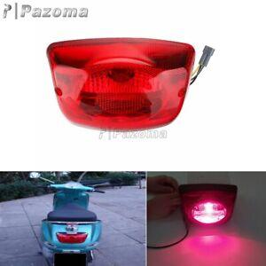 Rear Light Brake Tail Light For Vespa PIAGGIO LX50 LX125 LX150 IE 4V 4T -Red Len