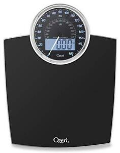 Ozeri Rev 400 lbs (180 kg) Bathroom Scale with Electro-Mechanical Weight Dial