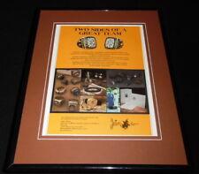 1979 Jostens Super Bowl XIII Ring 11x14 Framed ORIGINAL Vintage Advertisement