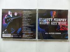 CD Album ELLIOTT MURPHY Gets muddy with OLIVIER DURAND 3107982