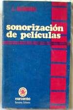 SONORIZACIÓN DE PELÍCULAS - L. B. NERONSKI - ED. MARCOMBO 1975 - VER INDICE