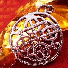 Anhänger ECHT SILBER Amulett Kelten Wikinger Larp WOW R