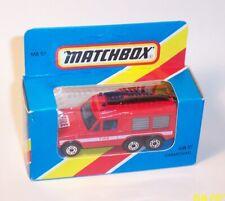 MATCHBOX Vintage Superfast Blue Box MB57 CARMICHAEL Range Rover FIRE - MIB