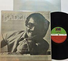 Baden Powell - Nosso Baden LP 1980 1st Brazilian Press Atlantic BR 30.140 Inner