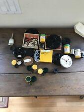 8mm Lot Lens Filter Film Antique Kodak Camera Projector Movie