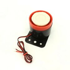 ALEKO 12V 108dB Mini Electronic Wired Alarm Siren Horn for Security System