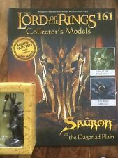 Eaglemoss Lord Of The Rings Figure 161 Sauron  + Magazine
