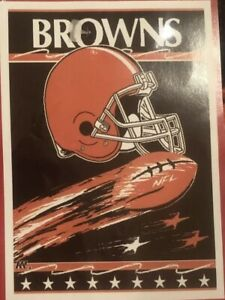 NIP Licensed CLEVELAND BROWNS NFL Triple Woven Jacquard 50 x 60  BLANKET THROW