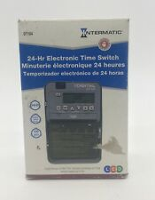 Intermatic Dt104 24-Hour Electronic Indoor/Outdoor Time Switch